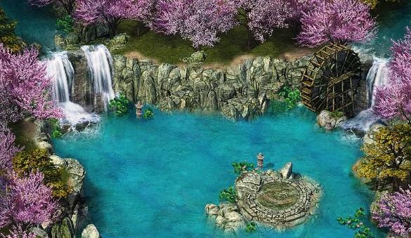 魔龙诀温泉地图