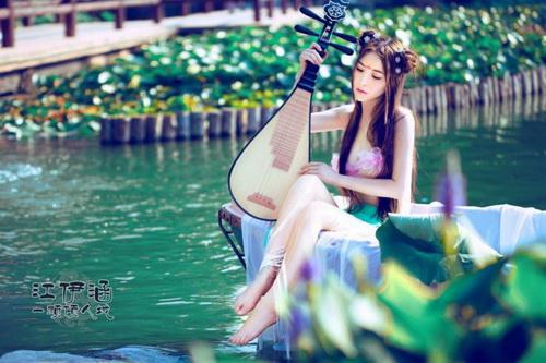 古装美女cos 倾城 37wan网页游戏