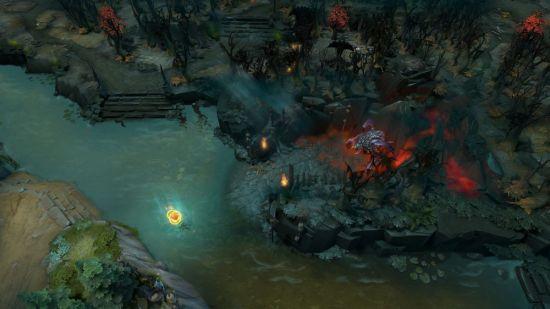 解说称dota2新版本 地图更像英雄联盟