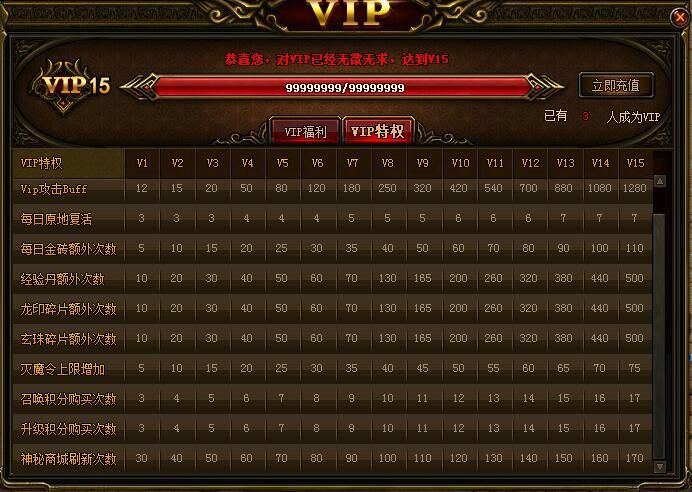 VIP系统